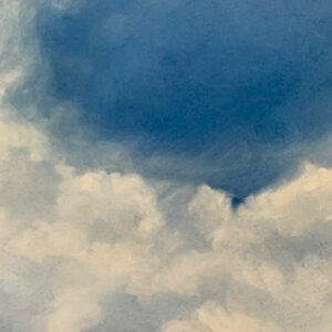 Clouds painting.